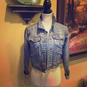 Heritage 1981-  Cropped soft Jean Jacket. Size S